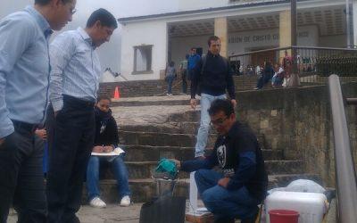 Actividad de Fundacaldas en Bogotá