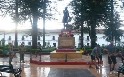 Restauración del Pedestal del Sabio